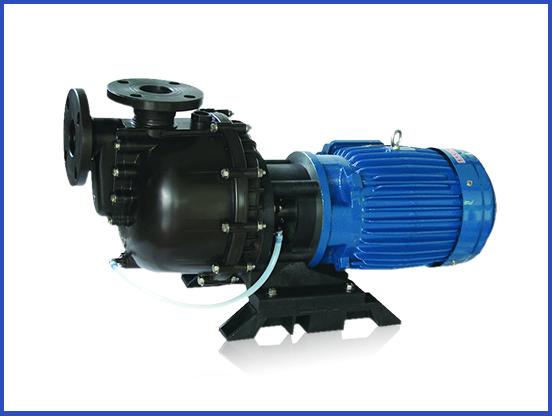 自吸无堵塞排污泵,氟塑料耐腐蚀自吸泵_SD系列